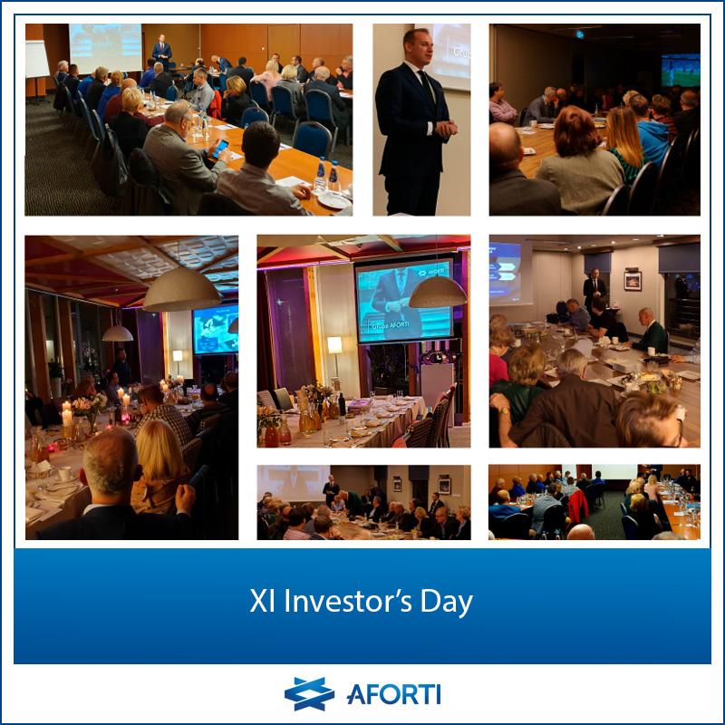 XI Investor's Day