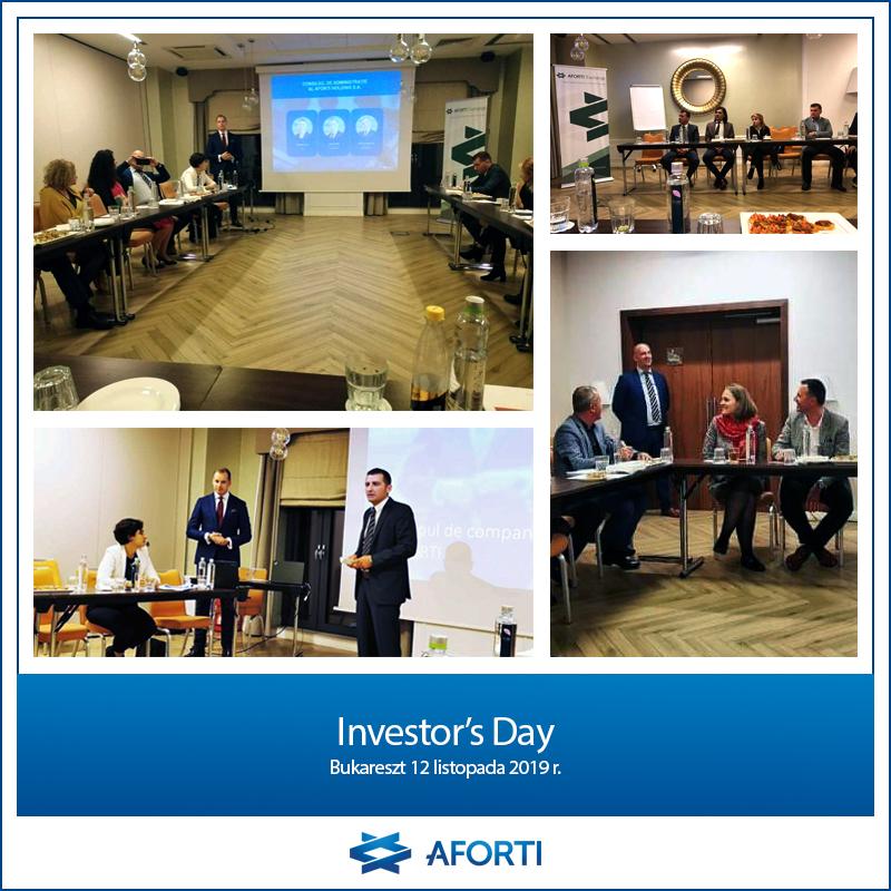 Investor's Day Romania