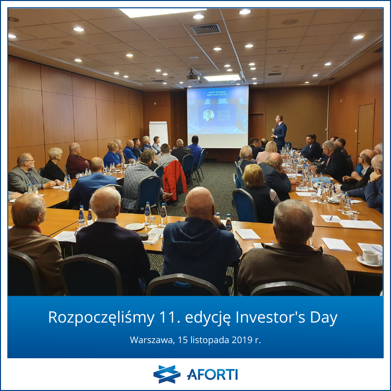 11. Investor's Day