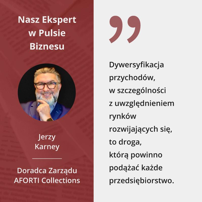 Jerzy Karney w Pulsie Biznesu